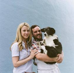 Heather and Chef Josh Keller of 2 Boroughs Larder