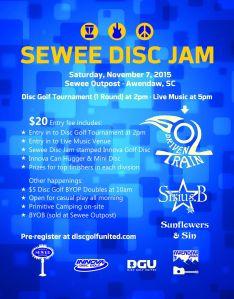 sewee disc jam 20151